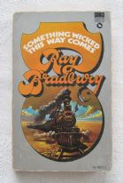 "zz Ray Bradbury, ""Something Wicked This Way Comes"" (Corgi, 1972) - vintage paperback horror fiction book (SOLD)"
